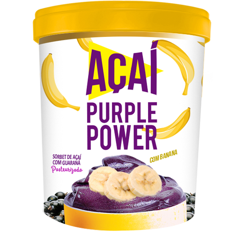 Purple Power Açaí com Banana