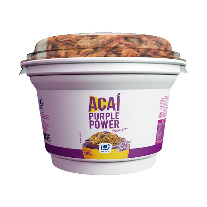 Purple Power Açaí com Guaraná e Granola Crocante