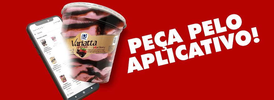 Como adquirir sorvete Perfetto em aplicativos de entrega?